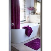 Roux Shower Curtain in Berry