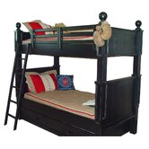 Taylor Cottage Twin over Twin Bunk Bed with Trundle Bed