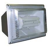 65 Watt 6500K Fluorescent Flood Light in Bronze