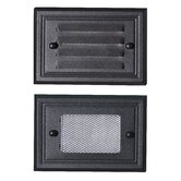 Flush Mount Deck Light Two Face Plate in Black