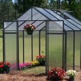 Monticello Quick Assembly Polycarbonate Greenhouse 4 ft. Extension