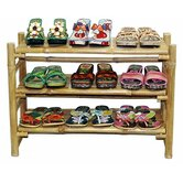 Folding+Shoe+Rack+in+Natural+ ...