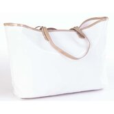 Wellie Market Tote Bag in White