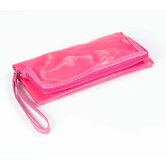 Wellie Foldover Clutch in Fuschia