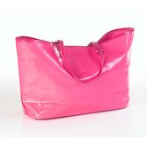 Wellie Market Tote Bag in Fuschia