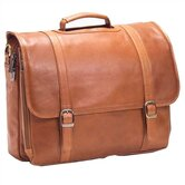 Tuscan Executive Laptop Briefcase in Tan