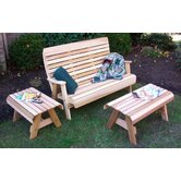 Creekvine Designs Seating Group Wood Sets