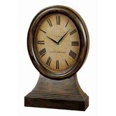 Urban Trends Wood Table Clock