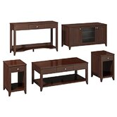 Americana Family Work-N-Play 5 Piece Coffee Table Set