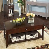 Americana 3 Piece Coffee Table Set