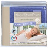 Luxury Waterproof Tencer Fiber Fitted Sheet Style Mattress Protector