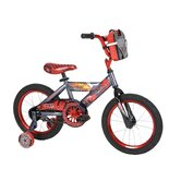 "Boys 16"" Disney Cars Cruiser Bike with Training Wheels"