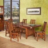 Arts and Crafts Pasadena 7 Piece Dining Set