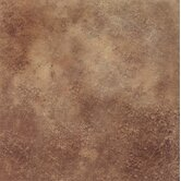 DuraCeramic 15-5/8&quot; x 15-5/8&quot; Terano Vinyl Tile in Cinnamon