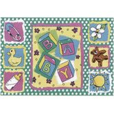 Jade Reynolds Building Blocks Baby Kids Rug