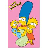 The Simpsons Girls Kids Rug
