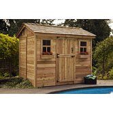 Cabana Wood Garden Shed