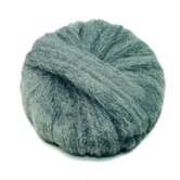 17&quot; Diameter Grade 2 Radial Steel Wool Pads in Gray