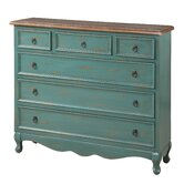 Cottage 6 Drawer Narrow hest