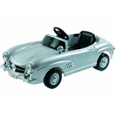 Mercedes Benz 300SL W198 6v Car Toy in Silver