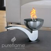 Pipe Table Top Fireplace