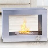 Window Flame Fireplace