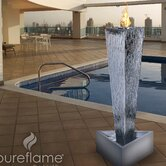 Tower of Fire Bio Ethanol Fireplace