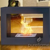 Window Flame Ethanol Fireplace