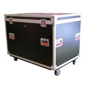 "Truck Pack Trunk with Casters: 29.5"" H x 44.38"" W x 30"" D"
