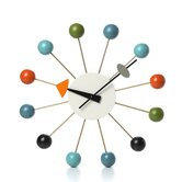 "Vitra Design Museum 13"" Ball Wall Clock"