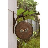 Pinecone Clock and Thermometer