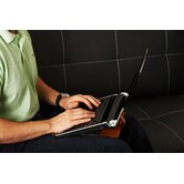 Wallet Chill Stand for Laptops, Notebooks, iPads, Tablets and eReaders in Black