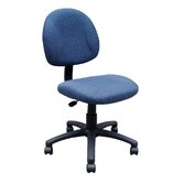 Adjustable Deluxe Low-Back Office Chair