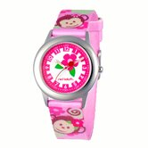 Girl's Pretty Girl Monkey Kid's Time Teacher Watch