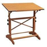 Pavilion Wood Drafting Table