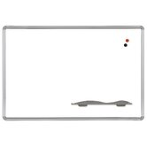 4' x 8' Porcelain Steel Markerboard with Presidential Trim
