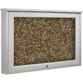 Weather Sentinel Single Door Outdoor Enclosed Bulletin Board Cabinet