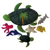 Sea Turtle and Friends