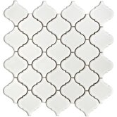 Beacon 12-1/2&quot; x 12-1/2&quot; Porcelain Mosaic in White