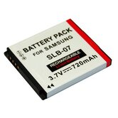 New 720 mAh Rechargeable Battery for SAMSUNG Cameras
