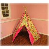 Hot Pink Pinwheel TeePee