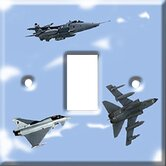 Fighter Planes Switch Cover