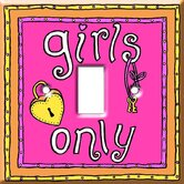 Girls Only Switch Cover