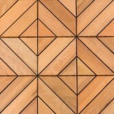 "12"" x 12"" Wood Deck Tiles in Dubai Itauba"