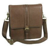Shoulder Bag with Front Buckle