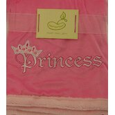 Saying Blanket Crib Throw in Pink - Princess