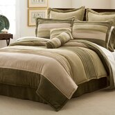Peyton Place Comforter Set with Four Bonus Pieces
