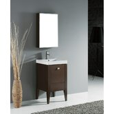"Andora 20"" Bathroom Vanity Set in Walnut"
