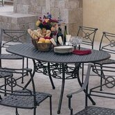 Delphi Round Dining Table - Cast Top