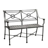 Delphi Metal Garden Bench